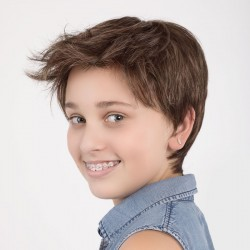 Peluca infantil fibra Lena (Ellen Wille)
