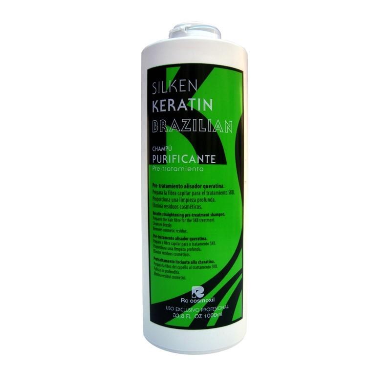 Champú purificante Silken Keratin