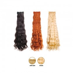 Extensiones de cabello tejido