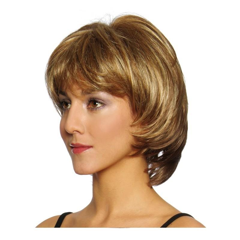Peluca cabello sintético (fibra) modelo IR-L032 de la línea Venus de Ireal.