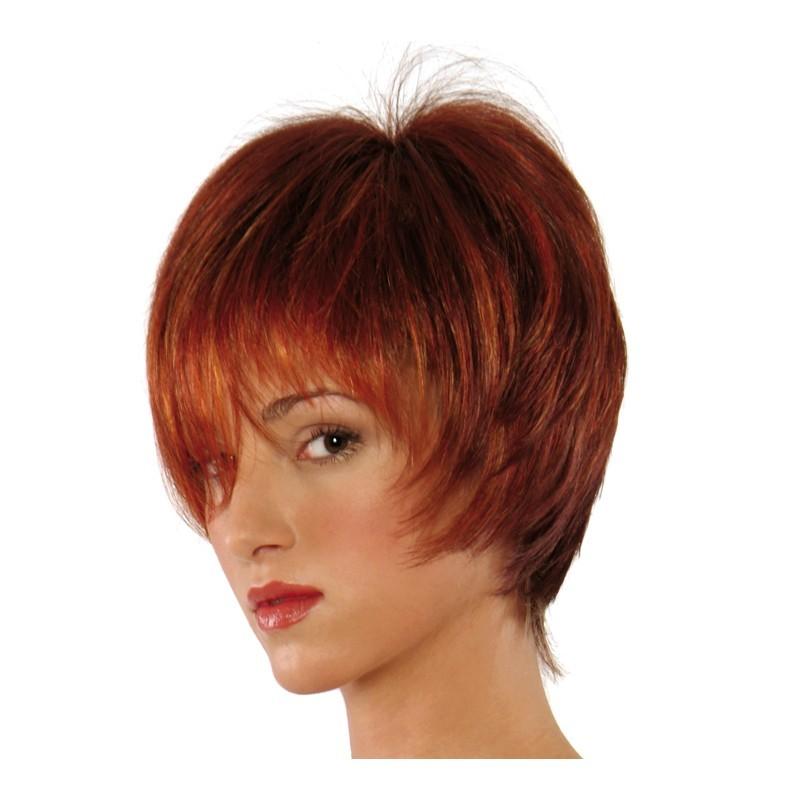 Peluca cabello sintético (fibra) modelo IR-L117 de la línea Venus de Ireal.