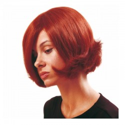 Peluca cabello sintético (fibra) hecha a mano modelo IR-Neón 20 cm. de la línea Afrodita de Ireal.