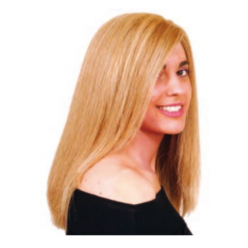 Peluca cabello sintético (fibra) hecha a mano modelo IR-Andrómeda de la línea Afrodita de Ireal.