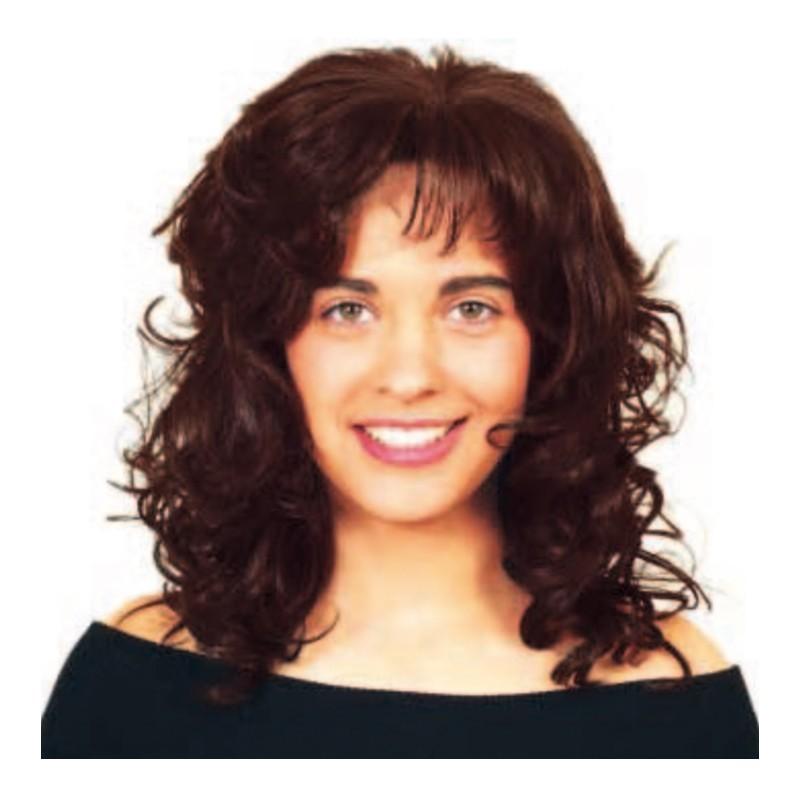 Peluca cabello sintético (fibra) hecha a mano modelo IR-Libra de la línea Afrodita de Ireal.