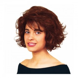 Peluca cabello sintético (fibra) hecha a mano modelo IR-Sirio de la línea Afrodita de Ireal.