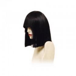 Peluca cabello sintético (fibra) de colores vivos hecha a máquina modelo IR-Carol 30 cm. de Ireal.