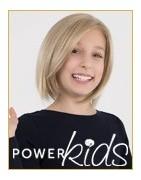 Línea de pelucas infantiles para niños y niñas de Ellen Wille
