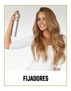 Los fijadores dan a tu cabello el estilo que deseas en cada momento