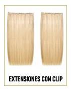 Extensiones naturales de cabello de clip (Easy long hair)