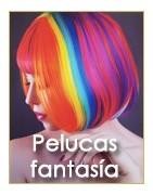 Pelucas de fantasia de colores y multicolor Ireal