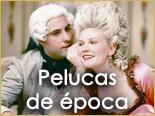 Outlet, descuentos, ofertas, rebajas pelucas de época Ireal Madrid
