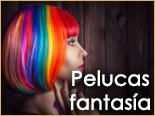Outlet, descuentos, ofertas, rebajas pelucas fantasia Ireal Madrid