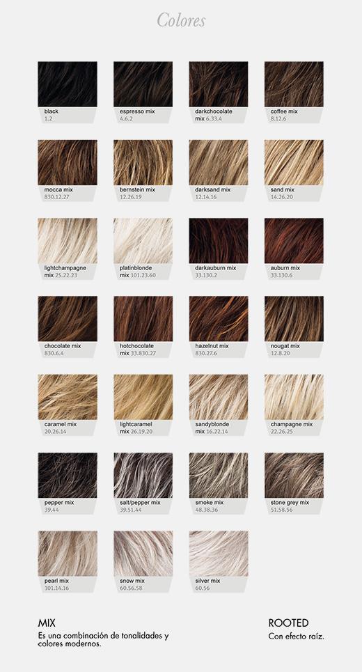 pelucas volumen del cabello