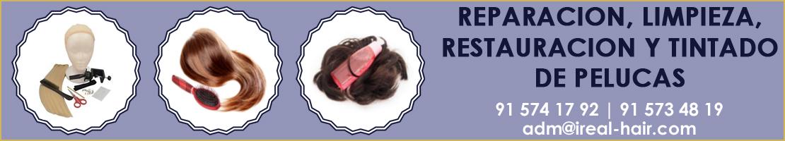 tienda de pelucas madrid reparación tintado limpieza restauración de pelucas