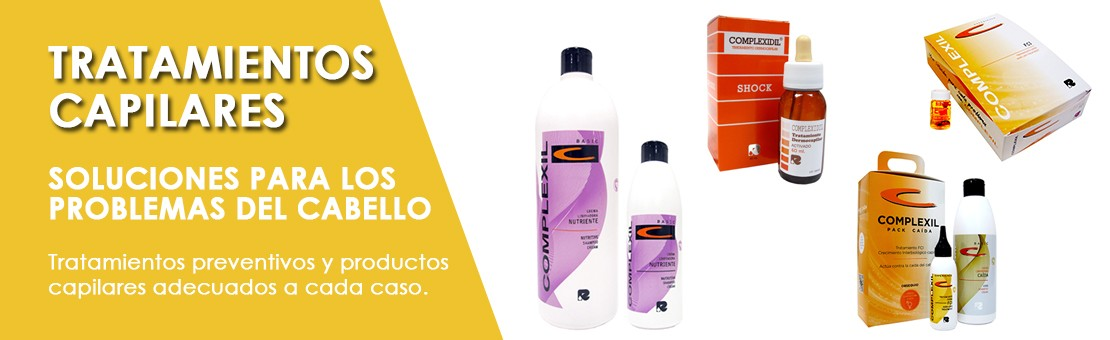 Tratamientos, terapia capilar: soluciones para los problemas del cabello. Tratamientos preventivos y productos capilares adecuados a cada caso.