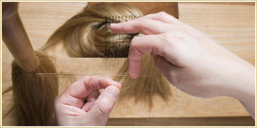 Confección: la base de una buena peluca