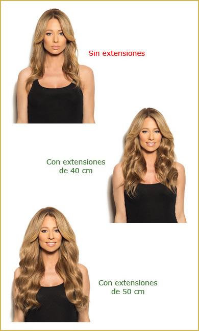 Extensiones cabello pelucas centro capilar Ireal Madrid