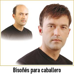 Pelucas centro capilar Ireal Madrid bisoñés