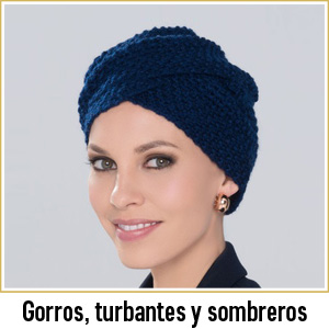 Pelucas centro capilar Ireal Madrid gorros sombreros turbantes tocados Ellen Wille