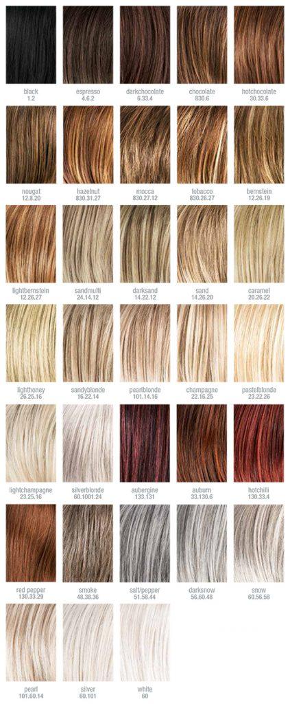 Paleta de colores Hair Society